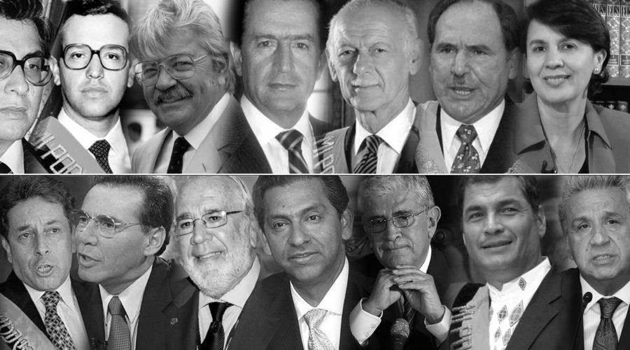 """Ecuador: 40 años entre """"democracia"""" y desengaños"""