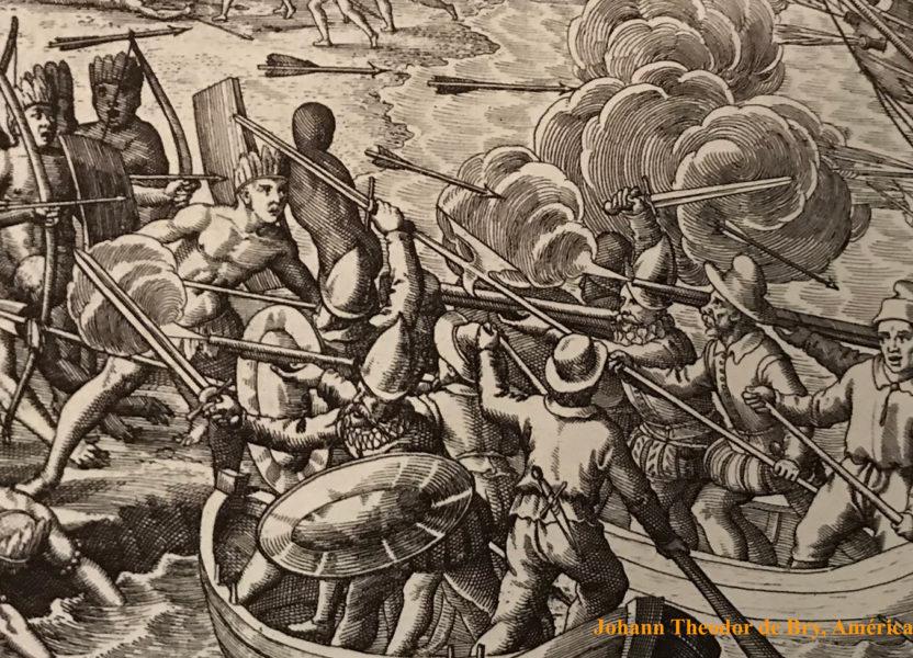"""La """"guerra justa"""" contra los indios"""