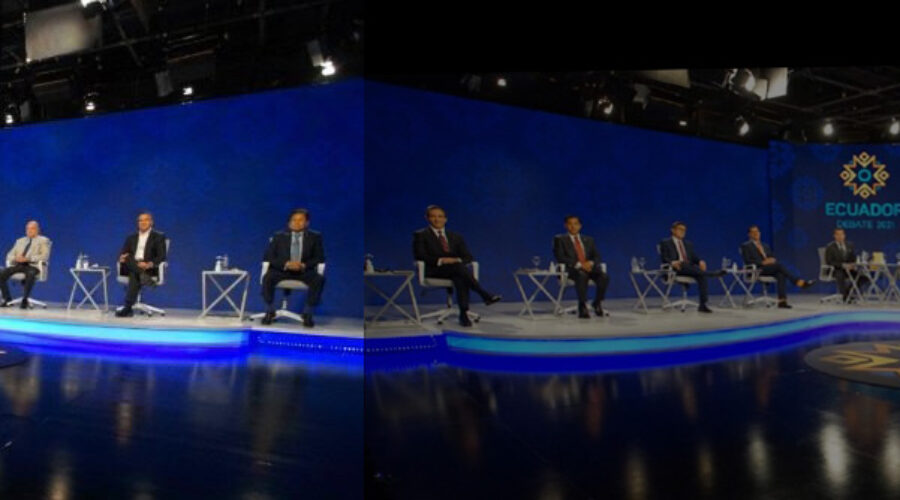 Debate presidencial en Ecuador: dos modelos económicos